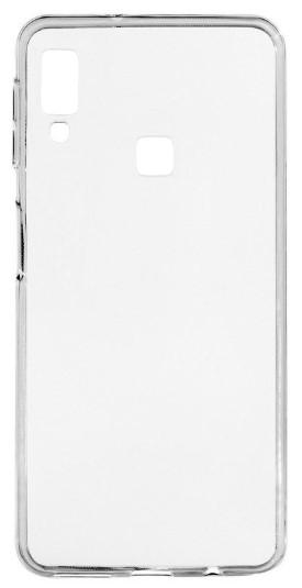 Чехол для Samsung Galaxy A40 силиконовый, цвет: прозрачный