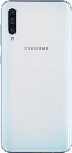 Задняя крышка (корпус) для Samsung Galaxy A50 (SM-A505), цвет: белый