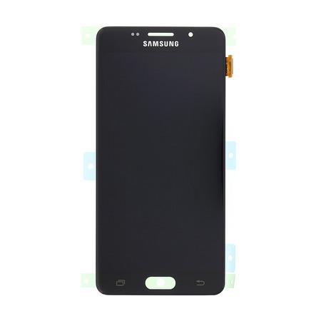 Экран для Samsung Galaxy A5 2016 (A510) с тачскрином OLED, цвет: черный