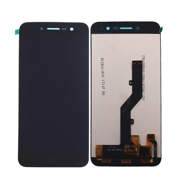 Экран для ZTE Blade A520 с тачскрином, цвет: черный