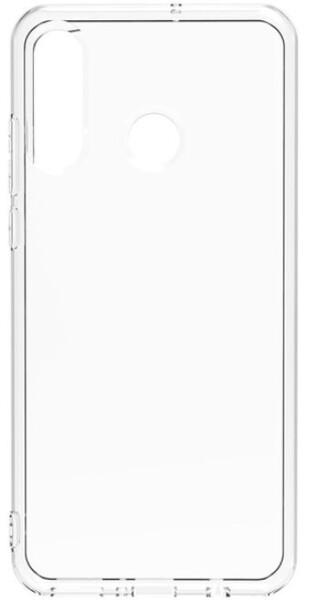 Чехол для Samsung Galaxy A60 силиконовый, цвет: прозрачный