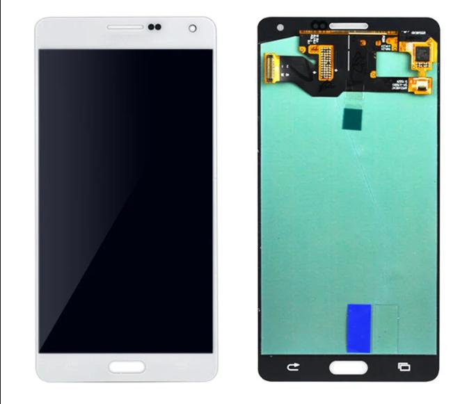 Экран для Samsung Galaxy A7 (A700F) с тачскрином, цвет: золотой, оригинальный