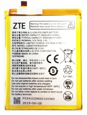 Аккумулятор для ZTE Blade A7s 2020 (Li3839T43P8h826348) оригинальный