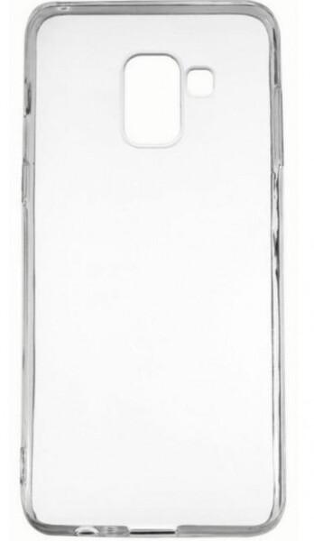 Чехол для Samsung Galaxy A8 2018 A530F силиконовый, цвет: прозрачный
