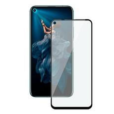 Защитное стекло для Huawei Honor 20 5D (полная проклейка) цвет: черный