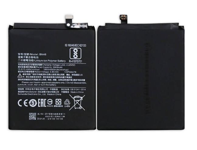 Аккумулятор для Xiaomi Redmi Note 8, Note 8T (BN46) оригинальный
