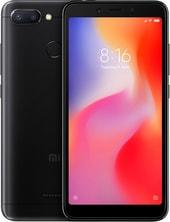 Задняя крышка для Xiaomi Redmi 6 цвет: черный