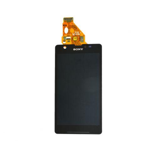 Экран для Sony Xperia ZR c5503 (c5502) с тачскрином, цвет: черный (оригинал)