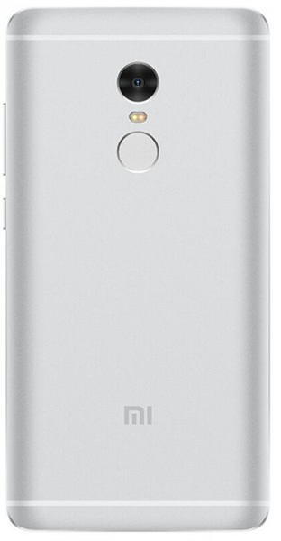 Задняя крышка для Xiaomi Redmi Note 4, цвет: серебристый