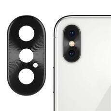 Стекло камеры для iPhone X, цвет: серебро