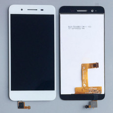 Экран для Huawei GR3 (TAG-L21, Enjoy 5S) с тачскрином, цвет: белый