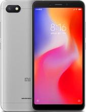 Задняя крышка для Xiaomi Redmi 6a цвет: серый