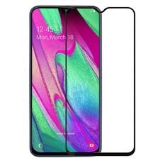 Защитное стекло для Samsung Galaxy A40 (SM-A405) 5D (полная проклейка), цвет: черный