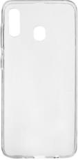 Чехол для Samsung Galaxy A30 силиконовый, цвет: прозрачный