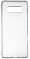 Чехол для Samsung Galaxy Note 8 N950F силиконовый, цвет: прозрачный