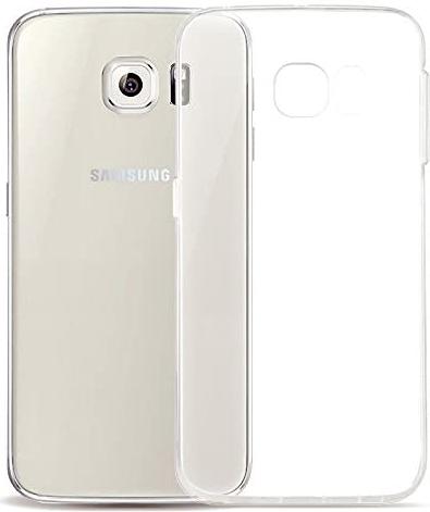 Чехол для Samsung Galaxy S6 G920F силиконовый, цвет: прозрачный
