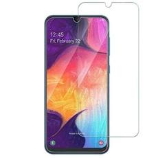 Защитное стекло для Samsung Galaxy A70 (SM-A750F) 5D (полная проклейка), цвет: черный