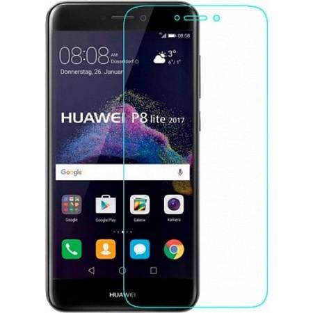 Защитное стекло для Huawei Ascend P8 Lite 2017, цвет: прозрачный