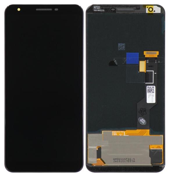 Экран для Google Pixel 3A с тачскрином, цвет: черный, оригинальный