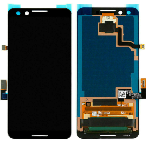 Экран для Google Pixel 3 с тачскрином, цвет: черный оригинальный