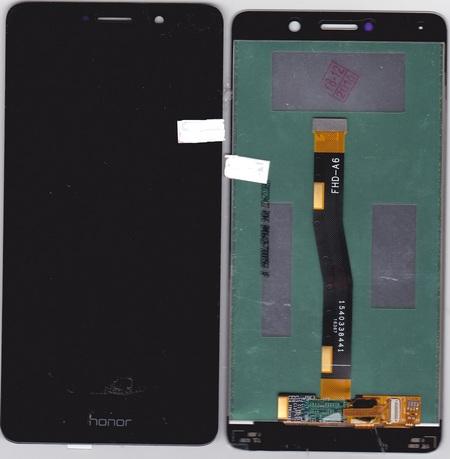 Экран для Huawei GR5 2017 с тачскрином, цвет: черный