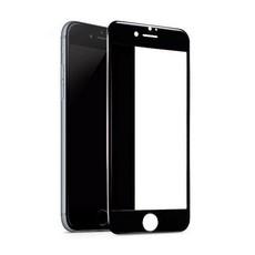 Защитное стекло для Apple iPhone SE 2 2020 5D (полная проклейка), цвет: черный