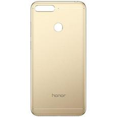 Задняя крышка (корпус) для Huawei Honor 7A Pro (AUM-L29), цвет: золотой