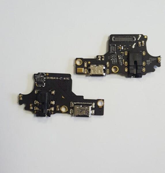Нижняя плата для Huawei Honor 10 с разъемом зарядки и разъемом для наушников