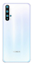 Задняя крышка (корпус) для Huawei Honor 20, цвет: белый