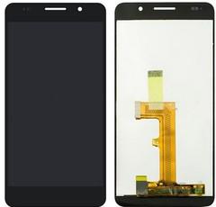 Экран для Huawei Honor 6 (H60-L02) с тачскрином, цвет: черный