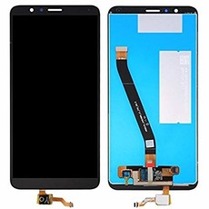 Экран для Huawei Honor 7X (BND-L21) с тачскрином, цвет: черный