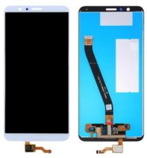 Экран для Huawei Honor 7X (BND-L21) с тачскрином, цвет: белый