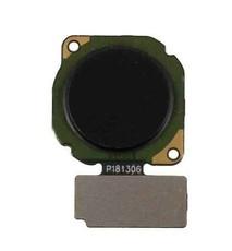 Шлейф для Huawei Honor 8X со сканером (сенсором) отпечатка пальцев, цвет: черный