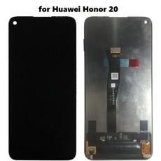 Экран для Huawei Honor 20 с тачскрином, цвет: черный