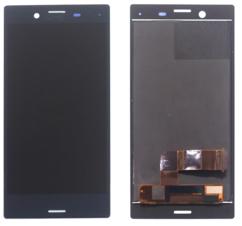 Экран для Sony X Compact (F5321) с тачскрином, цвет: черный