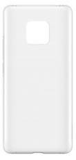Чехол для Huawei Mate 20 силиконовый, цвет: прозрачный