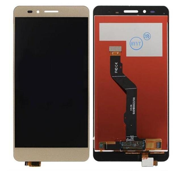 Экран для Huawei GR5 2017 с тачскрином, цвет: золотой
