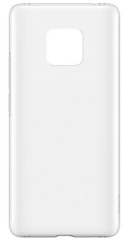 Чехол для Huawei Mate 20 Pro силиконовый, цвет: прозрачный