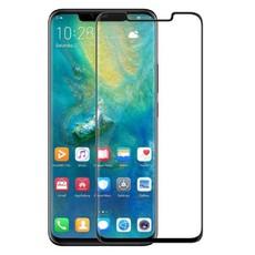 Защитное стекло для Huawei Mate 20 Pro 5D (полная проклейка) цвет: черный