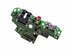 Нижняя плата для Huawei P Smart (FIG-LX1), Enjoy 7S на разъем зарядки, гарнитуры (наушников)