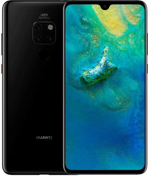 Задняя крышка для Huawei Mate 20 (HMA-L29) цвет: черный
