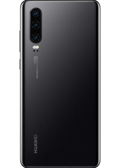 Задняя крышка (корпус) для Huawei P30 2019 (ELE-L21, ELE-L29), цвет: черный