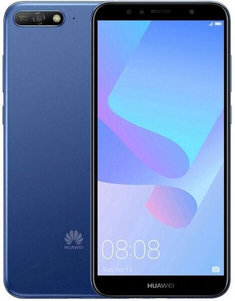 Задняя крышка для Huawei Y6 2018 (ATU-L21) цвет: синий