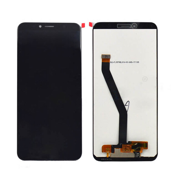 Экран для Huawei Honor 7A DUA-L22 с тачскрином, цвет: черный