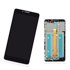 Экран для Huawei Mate 7 с тачскрином, цвет: черный