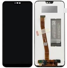 Экран для Huawei P20 Lite (ANE-LX1) с тачскрином, цвет: черный, оригинал, переклейка