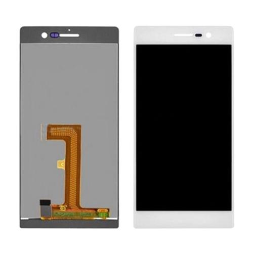 Экран для Huawei Ascend P7 с тачскрином, цвет: белый