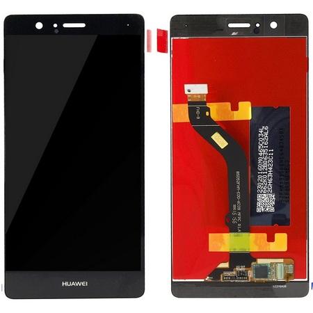 Экран для Huawei P9 Lite 2016 с тачскрином, цвет: черный