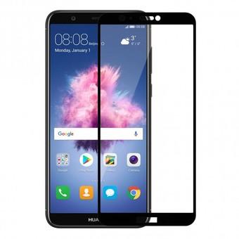 Защитное стекло для Huawei P Smart 5D (полная проклейка) цвет: черный