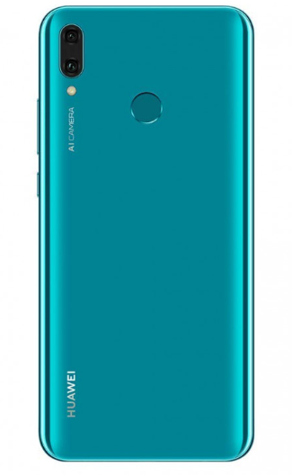 Задняя крышка (корпус) для Huawei Y9 2019 (JKM-LX1, JKM-LX3), цвет: сапфировый синий